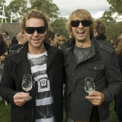 Todd and Tim at the McLaren Vale Sea and Vines Festival