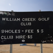 William Creek golf