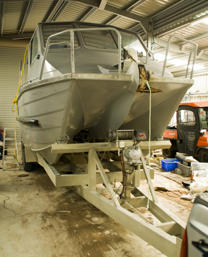 Grant\'s abalone boat