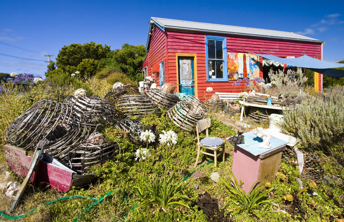 Caroline\'s Pottery on King Island