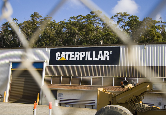 Caterpillar headquarters in Burnie