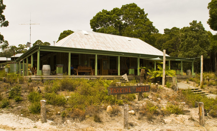 The Tarkine Hotel in Corinna