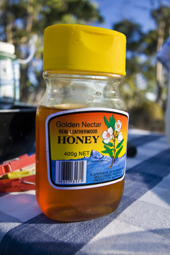Local Leatherwood honey