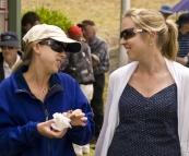 Lisa and Linda at the King Island Races