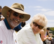 John and Dawn at the King Island Races