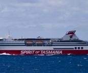 Our transport to Tasmania: the Spirit of Tasmania
