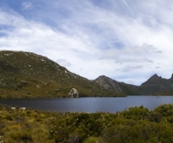 Dove Lake with Cradle Mountain in the distance
