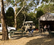 Camping at Stony Point