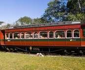 The West Coast Wilderness Railway in Queenstown