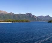 Lake Burbury on our way into the mountains