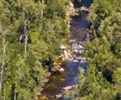 The Franklin River in Franklin-Gordon Wild Rivers National Park