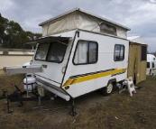 The tiniest caravan we've ever seen!