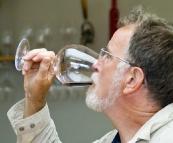 Greg tasting at Dalrymple Winery