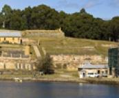 The prison section of Port Arthur