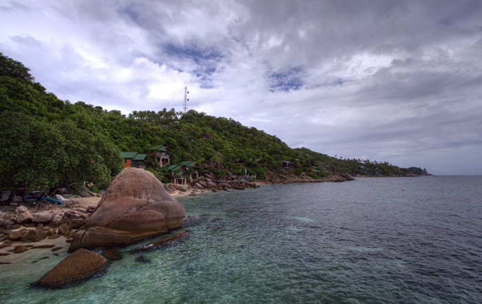 Our snorkeling spot at Cape Jeda Gang