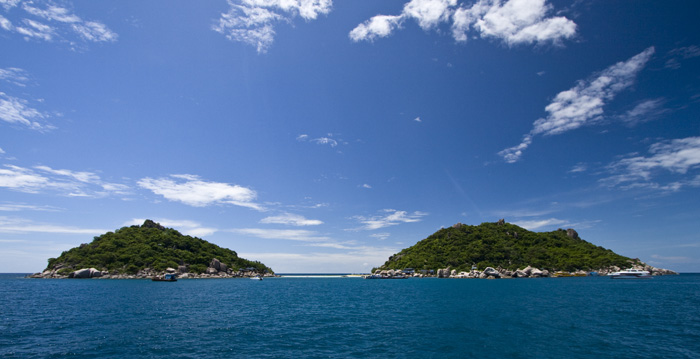 The private enclave of Nang Yuan Island