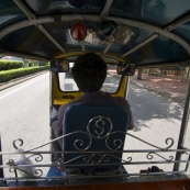 View from one of the many tuk-tuks we caught around town