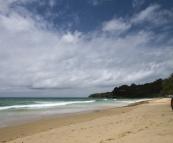 The fun surfing beach of Hat Surin