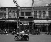 Store fronts in the old section of Phuket Town