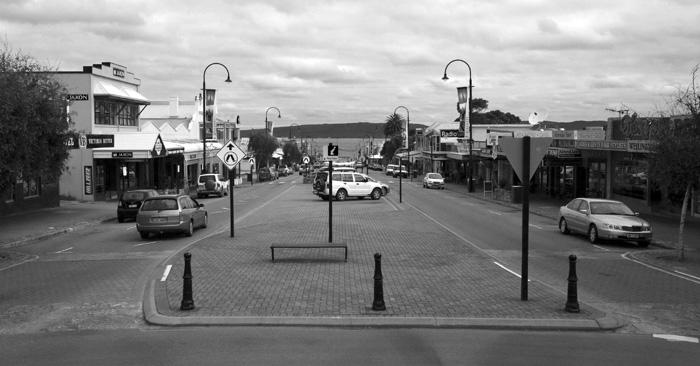 Albany's main street