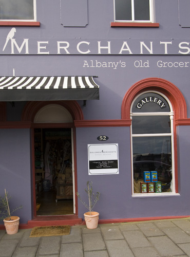 Merchants Grocer on the Albany waterfront