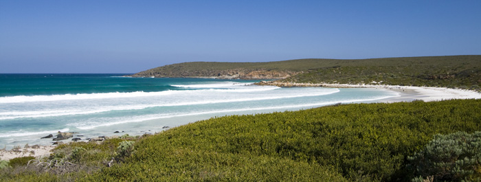 The beach and Point Ann at Fitzgerald River National Park