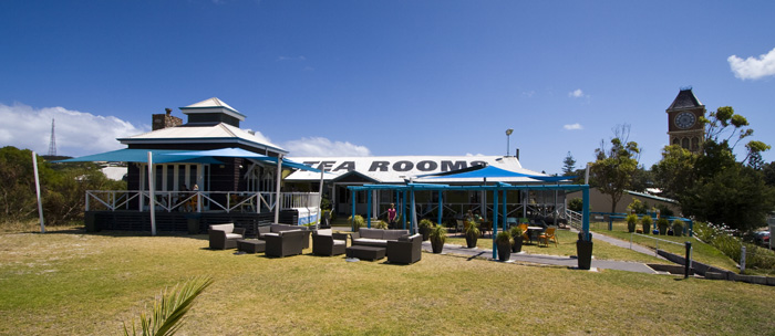Tea rooms on The Esplanade in Esperance