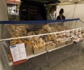 Fresh bread at the Albany Farmer's Market