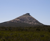 Frenchman's Peak in Le Grand National Park