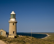 Vlamingh Lighthouse north of Exmouth