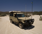 The Tank in the dunes on Ningaloo Station