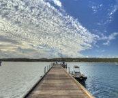 The Kalbarri boat harbour