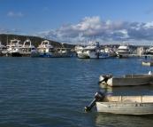 The Kalbarri boat harbour