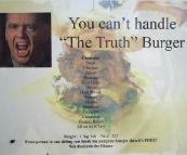 The biggest burger I\'ve ever seen!