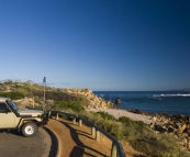 Breakfast by the mouth of the Murchison River in Kalbarri
