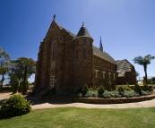 The beautiful Catholic church in Northampton