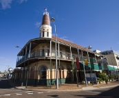 The Freemason's Hotel in Geraldton