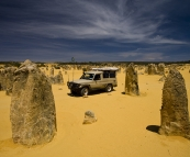 The Tank amidst The Pinnacles Desert in Nambung National Park