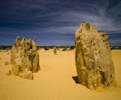 The Pinnacles Desert in Nambung National Park
