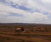 The main fuel depot at the Tom Price mine