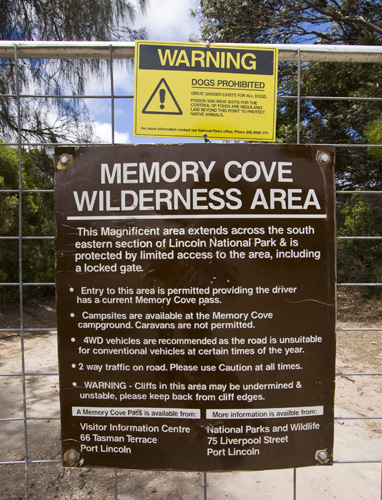 Memory Cove Wilderness Area