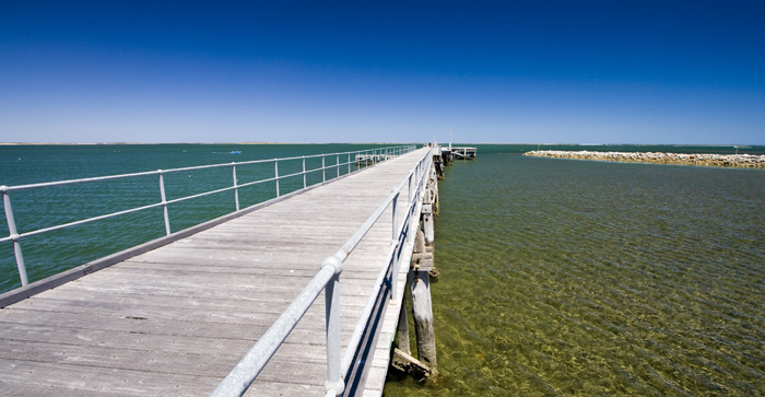 The Cowell jetty