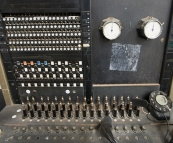Old telephone exchange at the Woolshed Museum in Penong