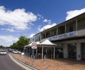 The Pier Hotel on Port Lincoln's main drag