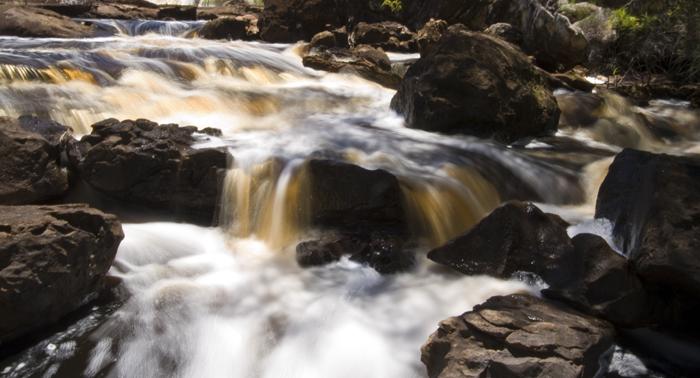 Fernhook Falls along the Deep River near Walpole