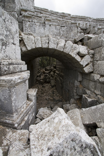 The Termessos amphitheater