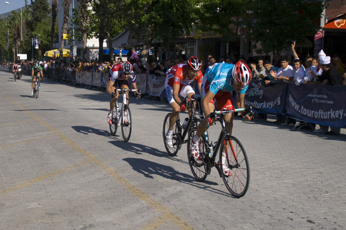 The Presidtenial Tour of Turkey: the lead riders