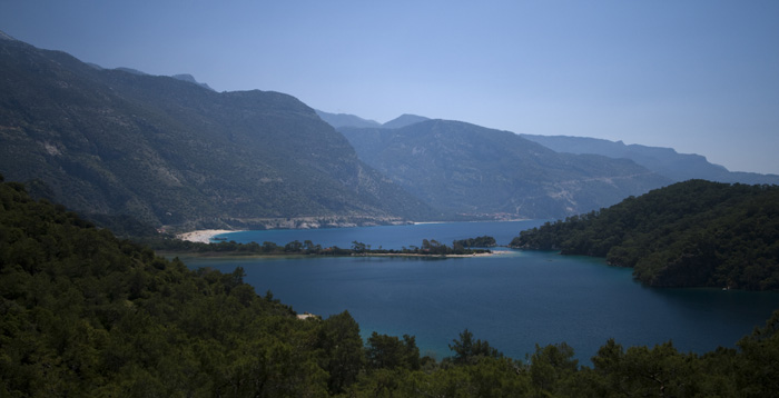 View of Oludeniz from the Lycian Way