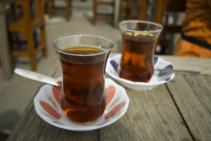 Turkish tea: chai