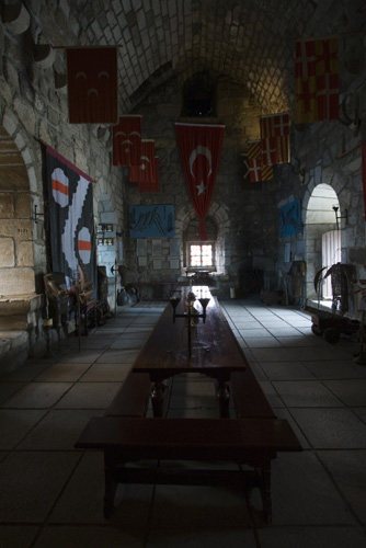 The Bodrum castle\'s English tower